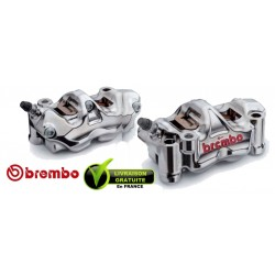 PACK BREMBO 2 ETRIERS GP4-RX ENTRAXE 108 P4X32 TAILLE MASSE 2 PARTIES