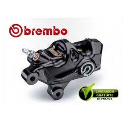 CALIPER BREMBO AXIAL .484 LEFT CNC AXIAL BLACK + LOGO 4X32 ENTRAXE 69,1MM