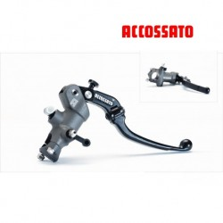 Master Cylinder ACCOSSATO Brake 19x18 with lever repliable