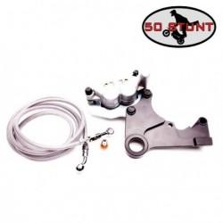 Kit platine Handbrake + Etrier + durite - KTM 250 300 / SX XC XC-W -- 125 144 150 200 / SX XC XC-W