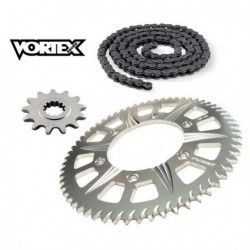 Kit Chaine STUNT - 14x60 - CBR600 F4 99-00 HONDA Chaine Grise