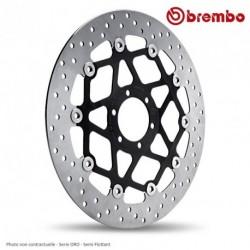 Disque avant BREMBO BENELLI TNT 1130 RS, Cafe Racer,Titanium 05-10 (78B40870) serie ORO - Semi-Flottant