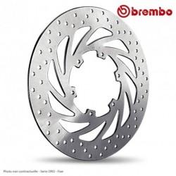 Disque arriere BREMBO APRILIA 1000 Tuono V4/ APRC/ RR/Factory 17 ( 68B407G6 ) Serie ORO - Fixe