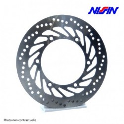Disque arriere NISSIN HONDA CB400N/ T 82-88 (SD503) - Fixe