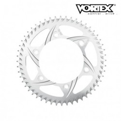Couronne VORTEX - APRILIA 1000 RSV Mille 98-03 520 Conv - Argent (ref:144A)