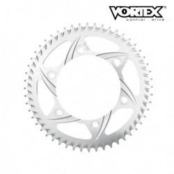 Couronne VORTEX - SUZUKI GSXR600 04-05 - Argent (ref:526)
