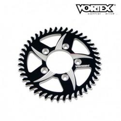 Couronne VORTEX - APRILIA 1000 RSV Mille 04-08 - Noir (ref:144ZK)