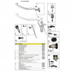 Coude pour HC1 Embrayage (N°11 sur photo - réf : 0428187)